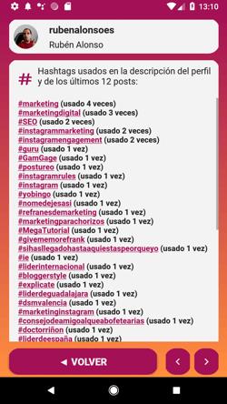GamGage lista de hashtags usados