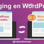 Staging en WordPress - Versiones de WordPress