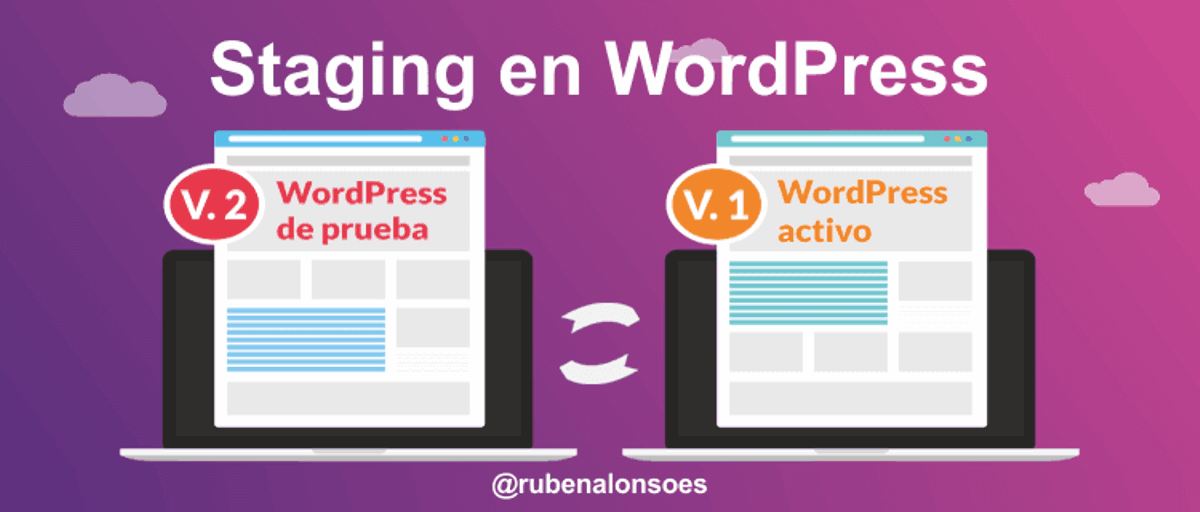Staging en WordPress - Versiones de WordPress